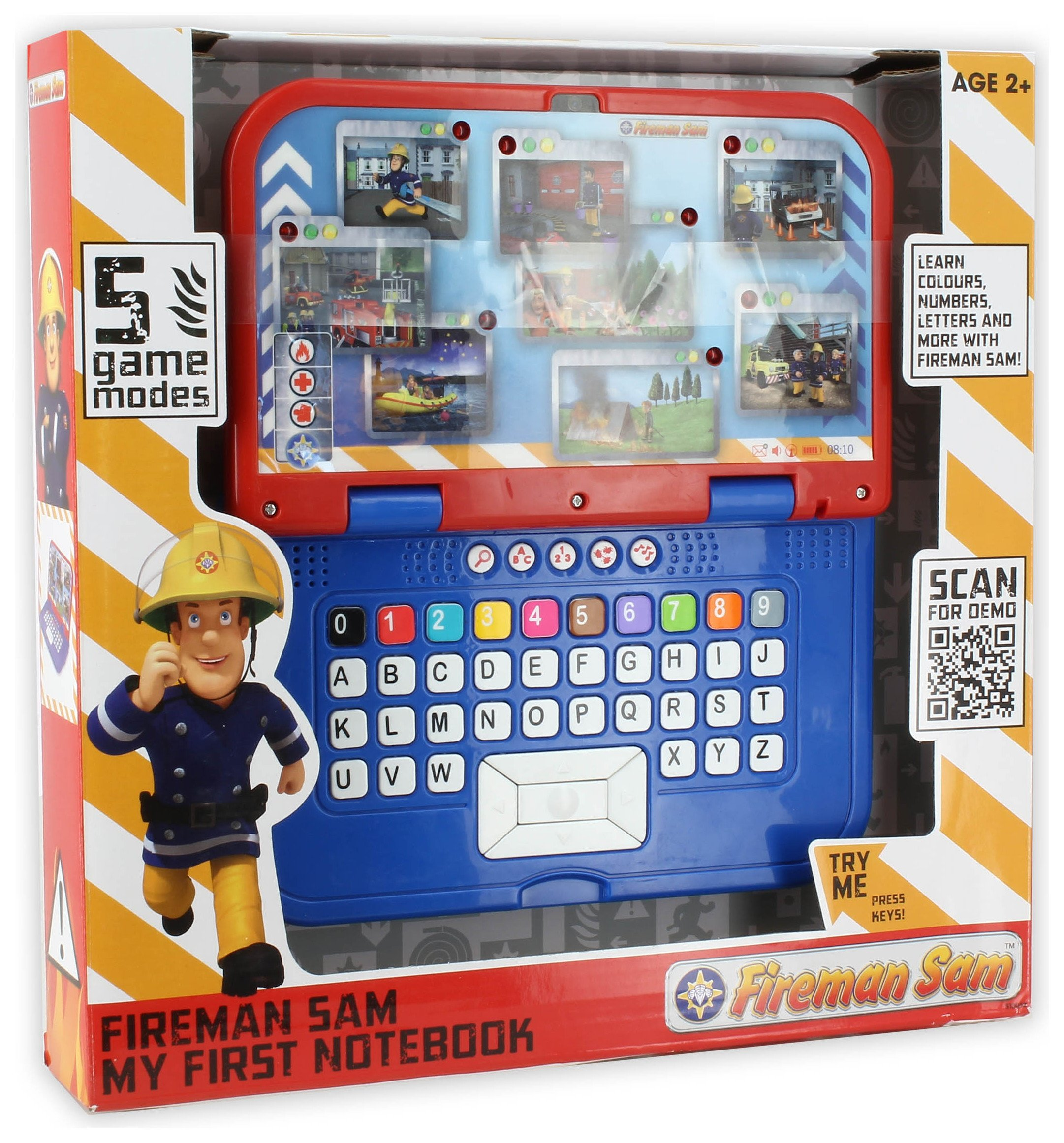 Image of Fireman Sam My First Notebook.