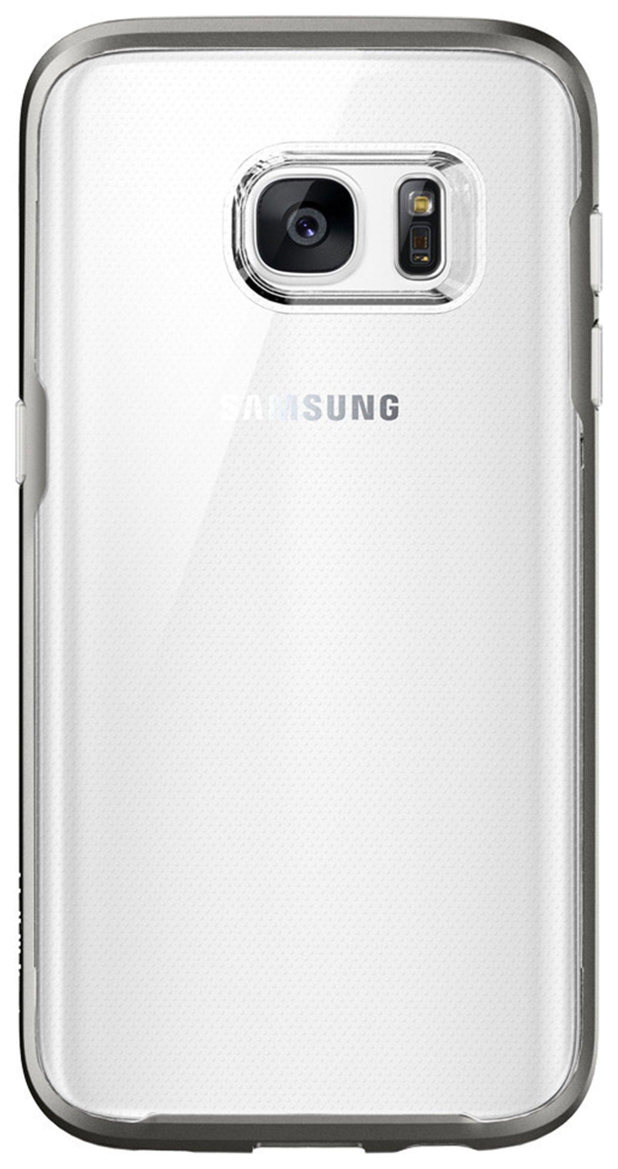 Spigen Hybrid Crystal Case for Galaxy S7 - Gun Metal.