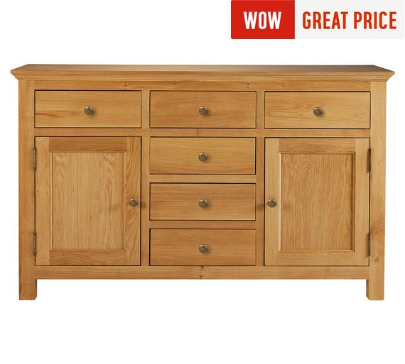 Collection Kingsbury Large Oak Veneer Sideboard