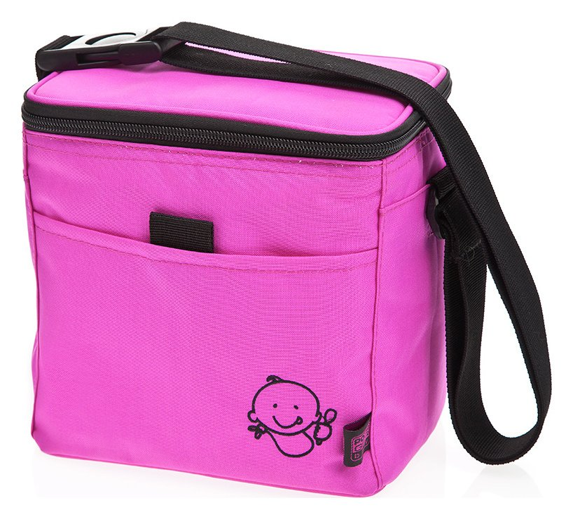 Image of Polar Gear Baby Little Ones Lunch Bag - Pink/Black.