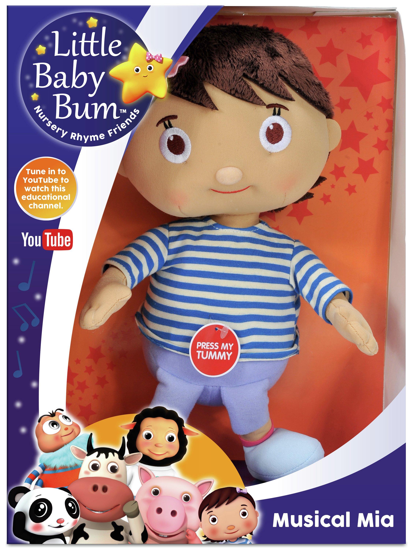 Little Baby Bum Muscial Cuddlers Mia Plush.