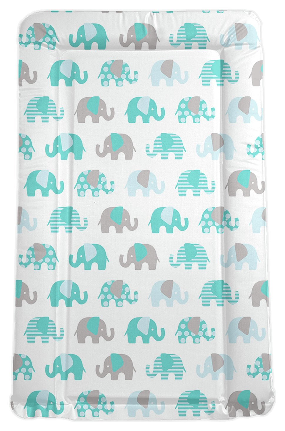 Image of My Babiie - Billie Faiers Turquoise Elephant - Changing Mat