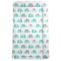 My Babiie - Billie Faiers Turquoise Elephant - Changing Mat