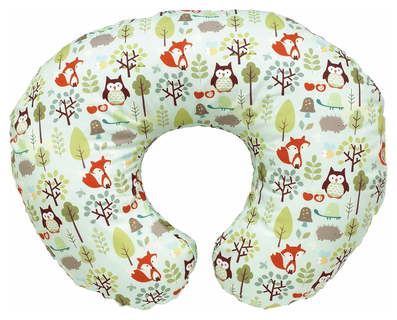 Image of Boppy Cotton Feeding Pillow - Woodsie.