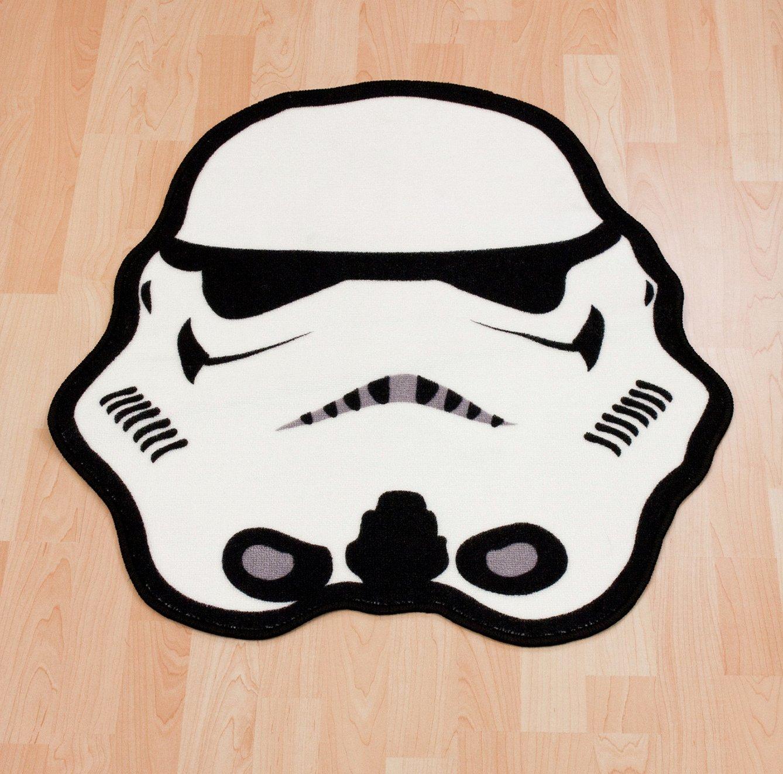 Image of Star Wars Clone Wars Trooper Shaped Rug.