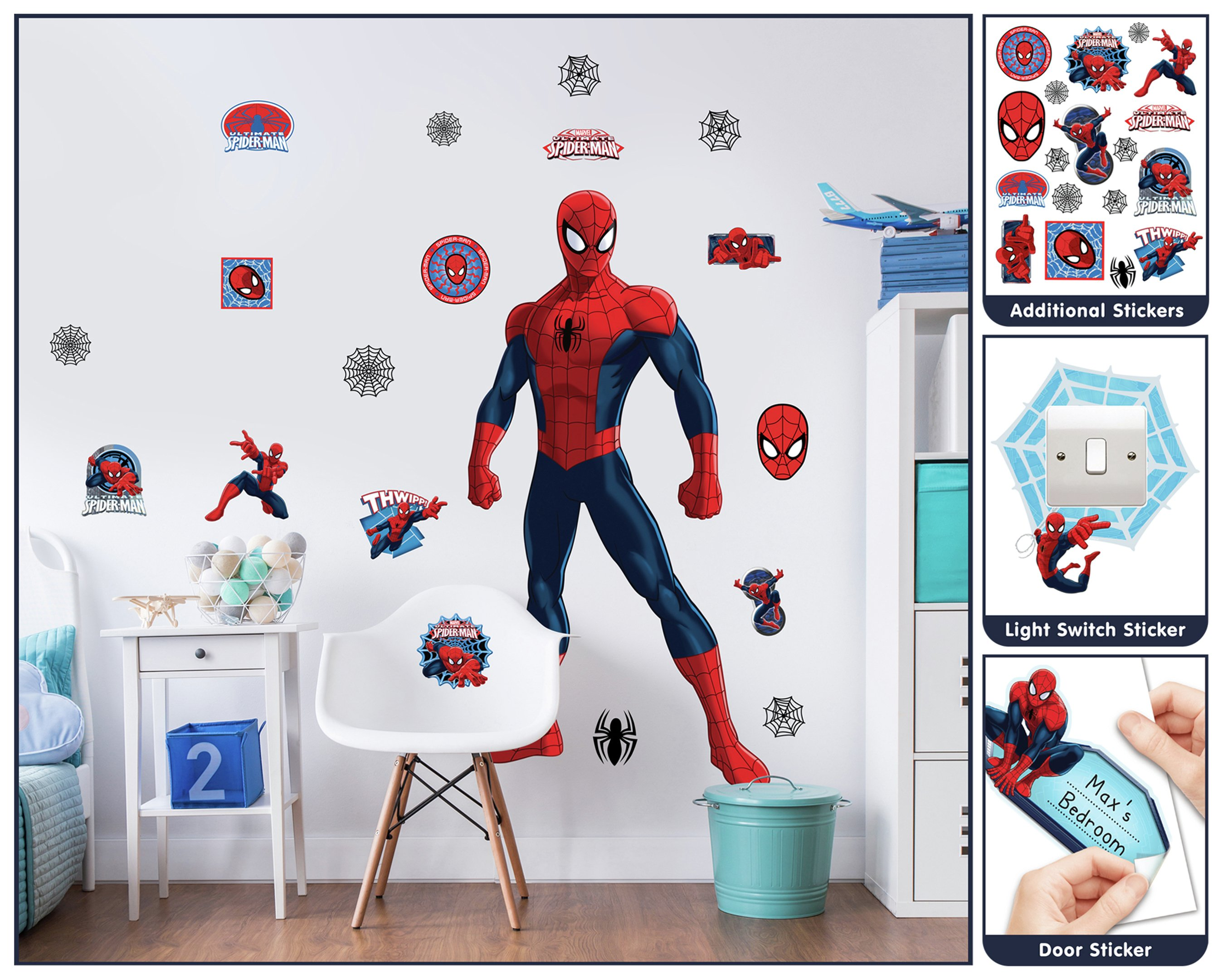 Walltastic Spider-Man Large Character Sticker.