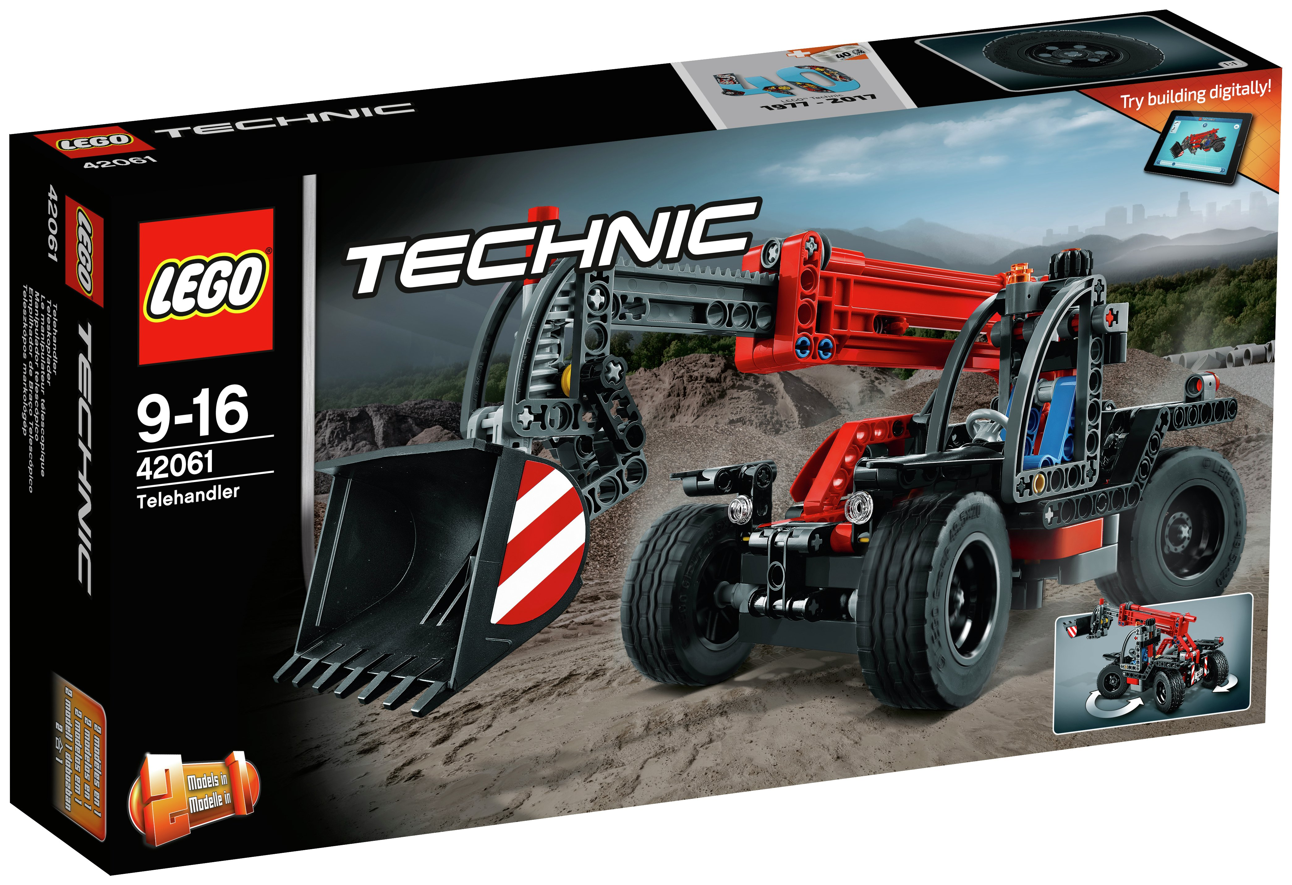 LEGO Technic Telehandler - 42061.