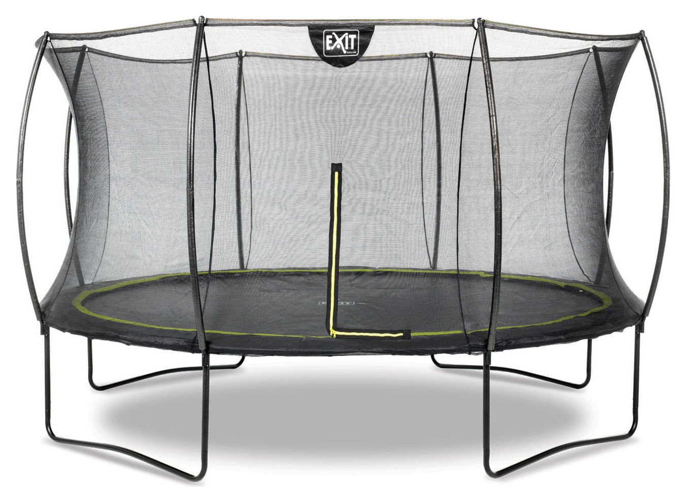 exit  14ft black edition  trampoline