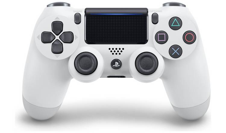 Sony PS4 DualShock 4 V2 Wireless Controller - Glacier White