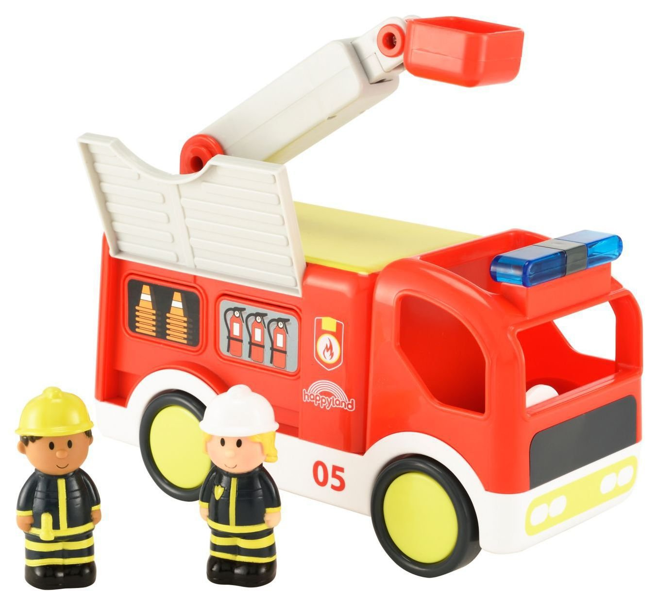 Happyland Lights and Sounds Fire Engine.