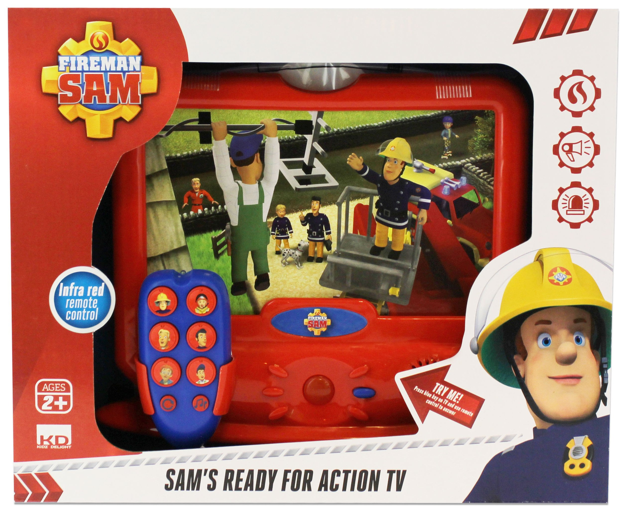 Image of Fireman Sam Ready For Action TV.