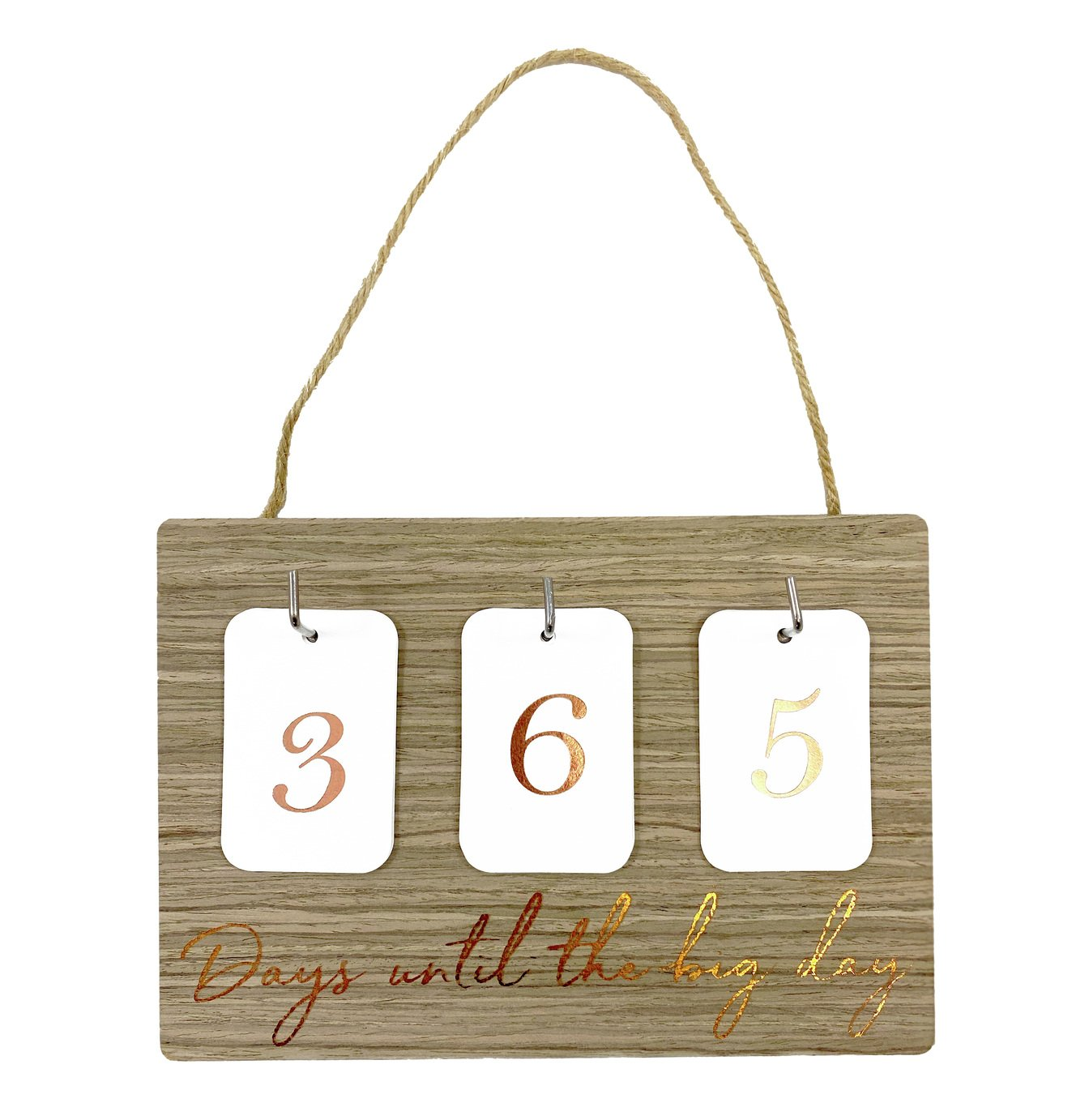 Wedding Day Countdown Sign