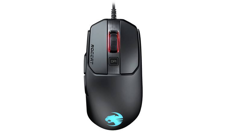 Roccat Kain 120 Aimo RGB Wired Gaming Mouse - Black