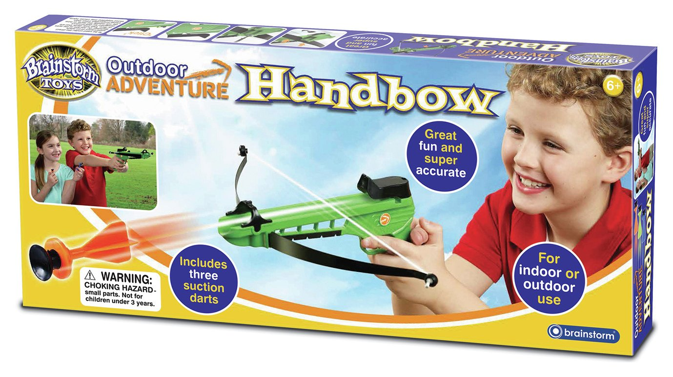 Image of Brainstorm Toys Outdoor Adventure Handbow.
