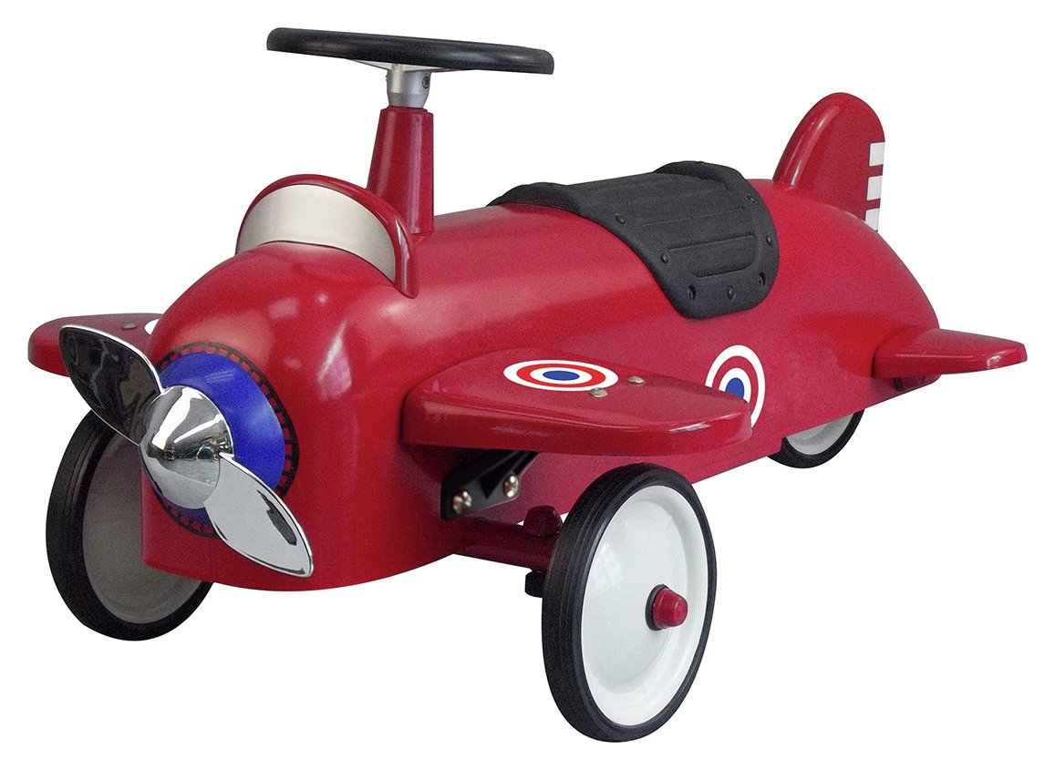 Image of Great Gizmos Ride On Aeroplane - Red.