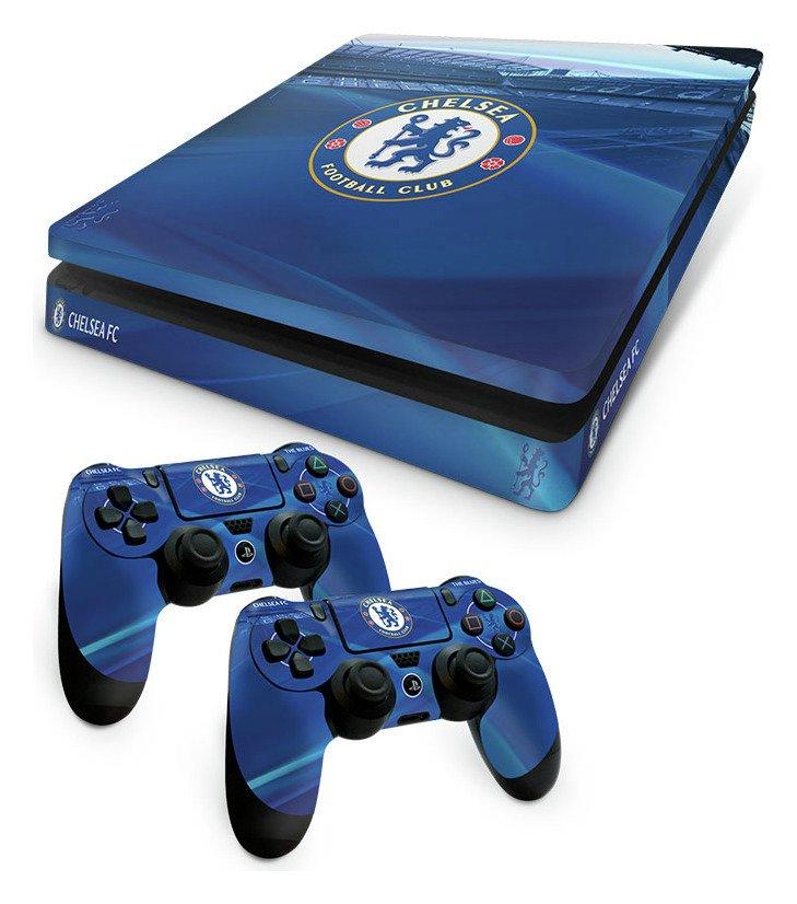 'Chelsea Fc Ps4 Slim Skin Bundle.