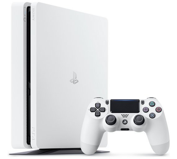 Buy PS4 Slim 500GB Console - Glacier White at Argos.co.uk ...