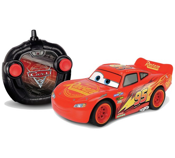 cars 3 lightning mcqueen rc turbo racer car 124 - Flash Macqueen