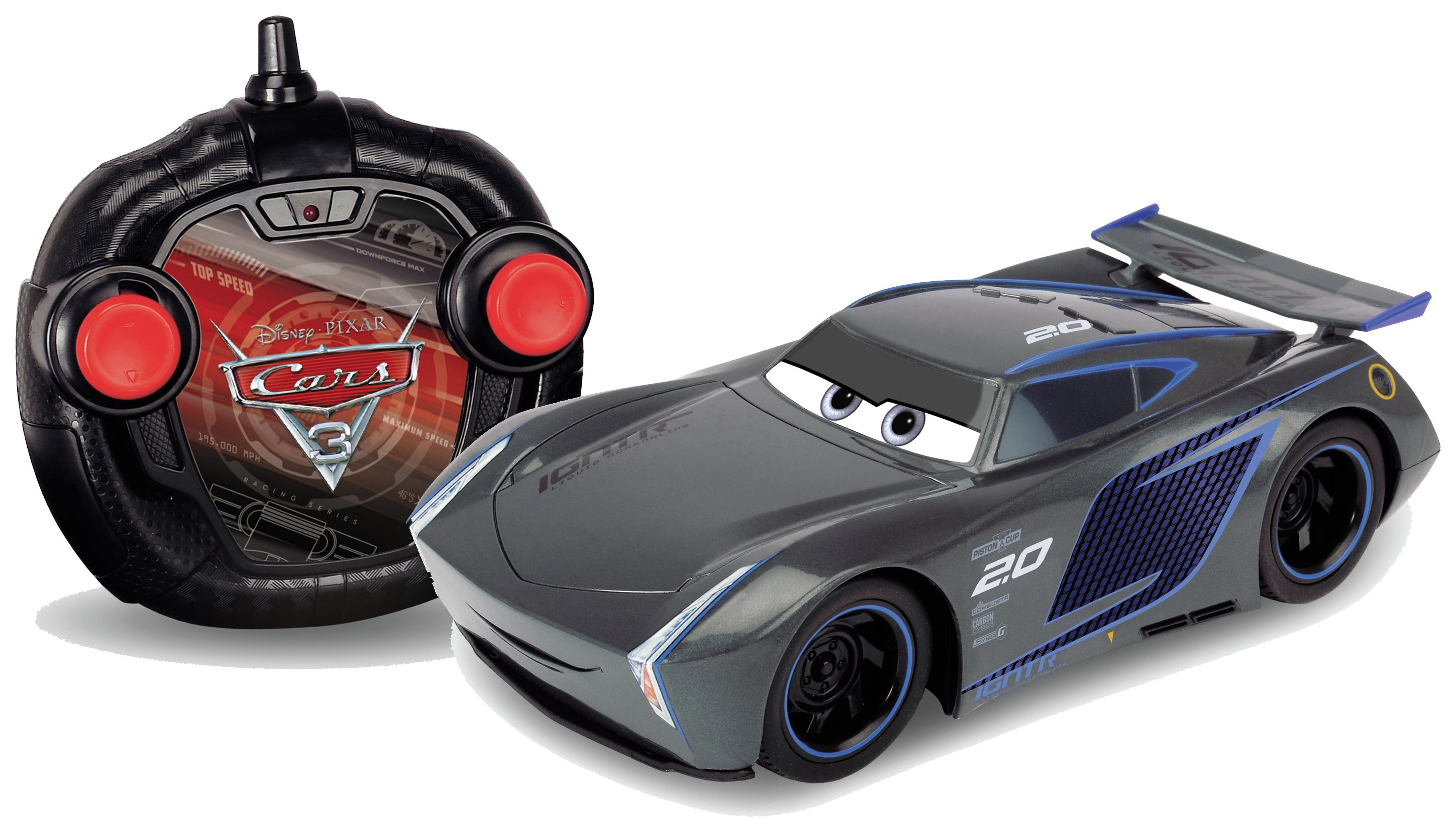Image of Cars 3 Jackson Storm RC Turbo Racer 1:24