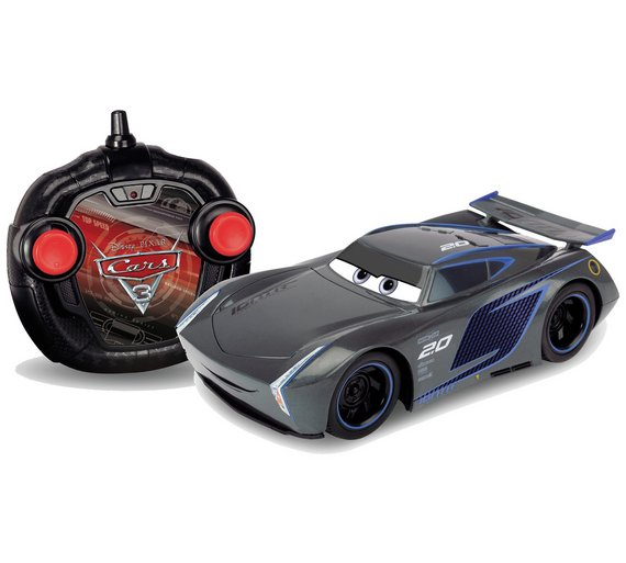 Buy cars 3 jackson storm rc car 1 24 at your for Three jackson toy