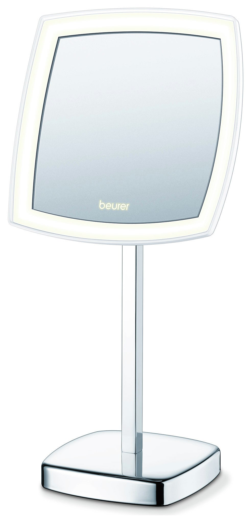 Image of Beurer BS99 Illuminated LED Free Standing Cosmetic Mirror.
