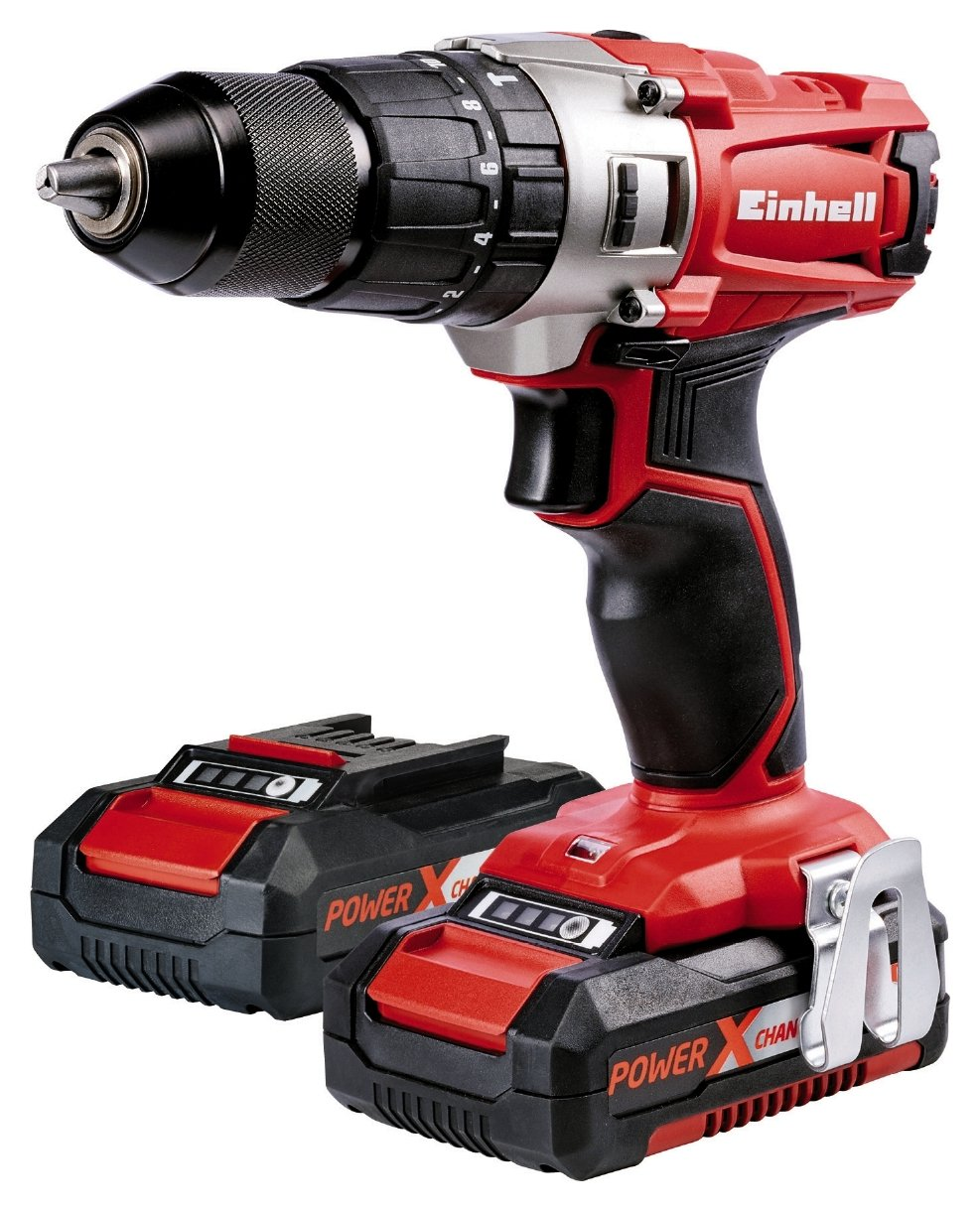 einhell power x change li ion cordless combi drill kit 18v review. Black Bedroom Furniture Sets. Home Design Ideas