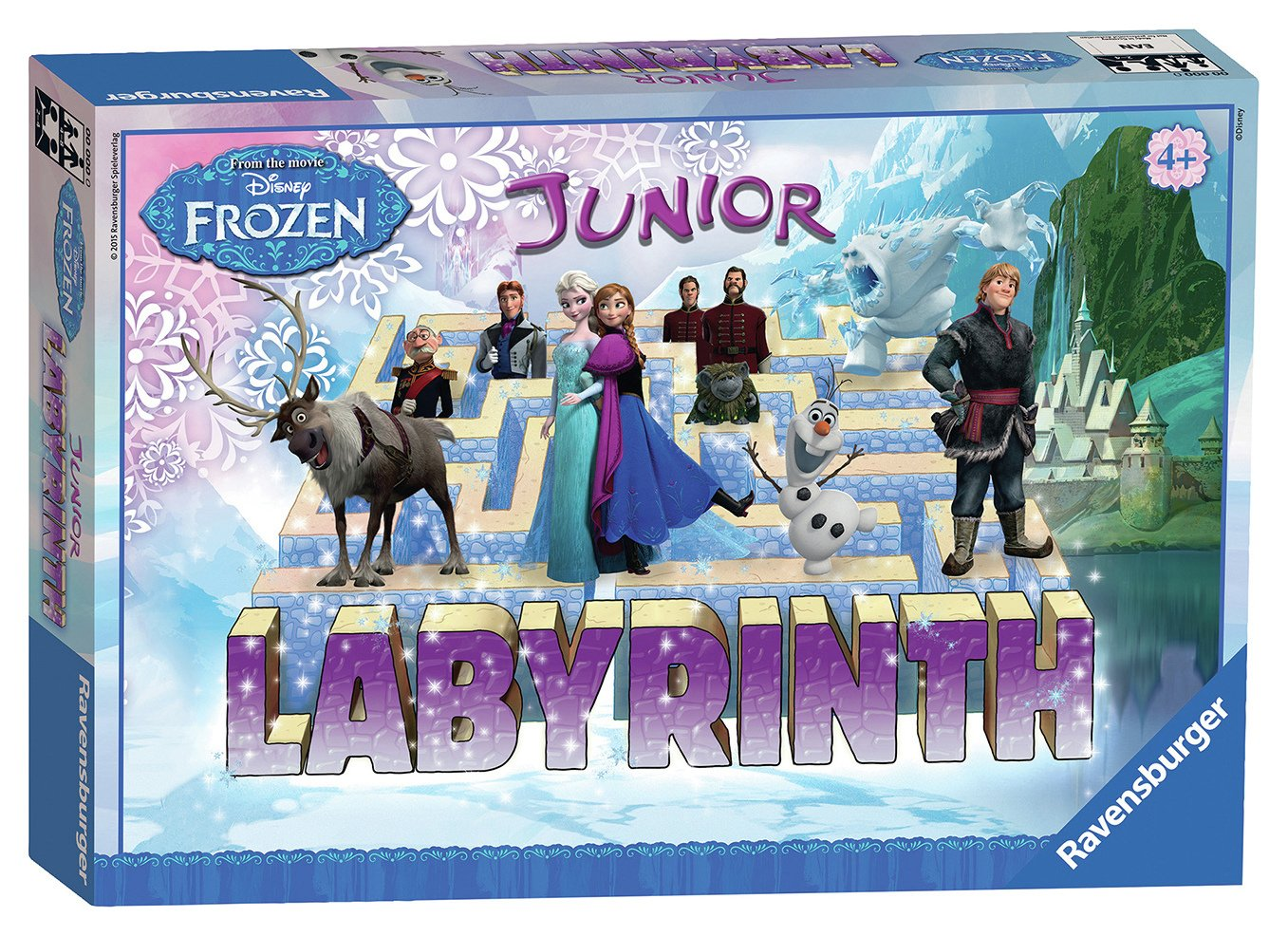 Image of Ravensburger Disney Frozen Labyrinth Junior Game.