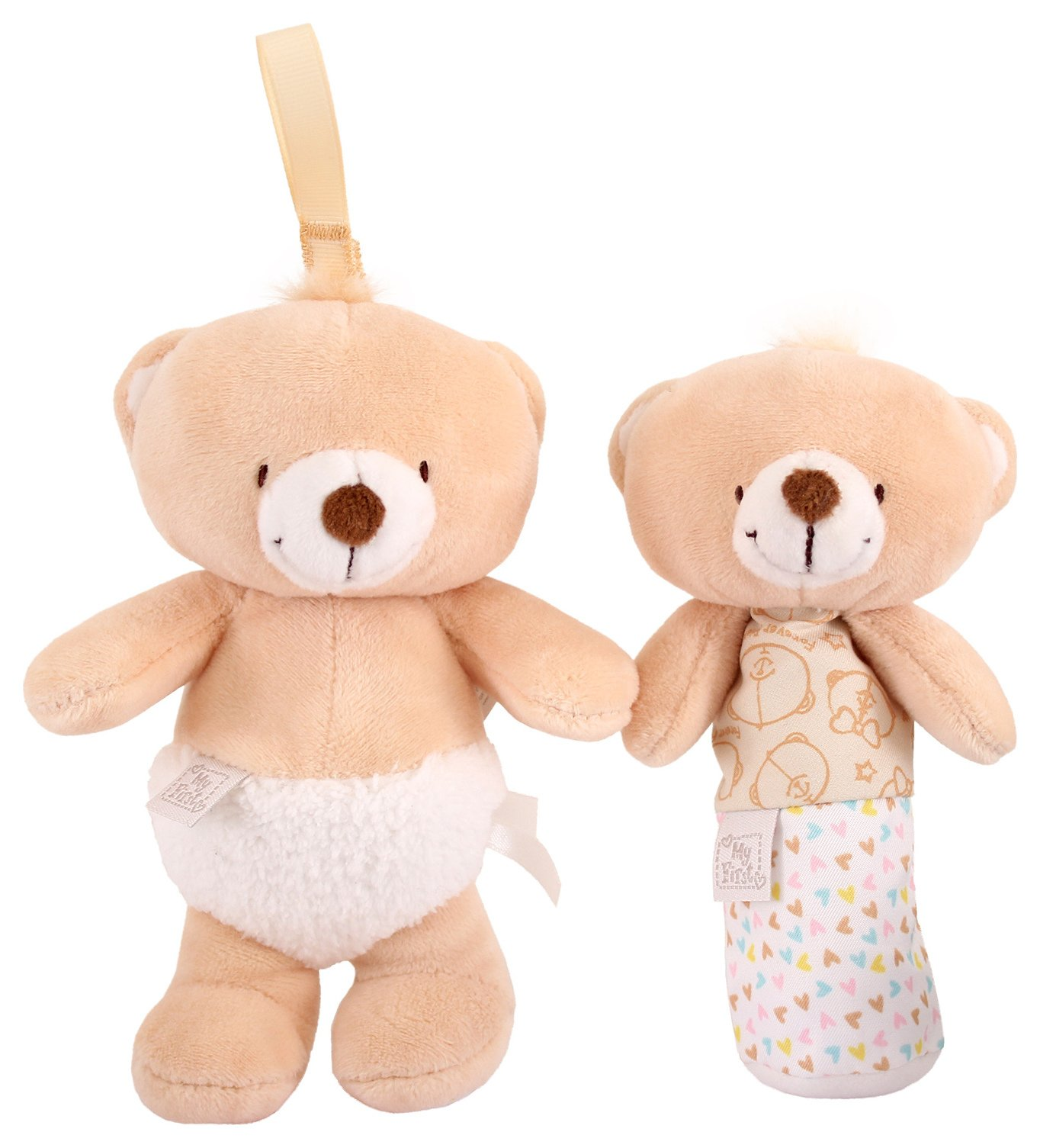 My First Forever Friends Squeaker & Jingle Bundle