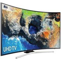 Samsung 49MU6200 49'' 4K Ultra HD Curved Black / Silver LED TV