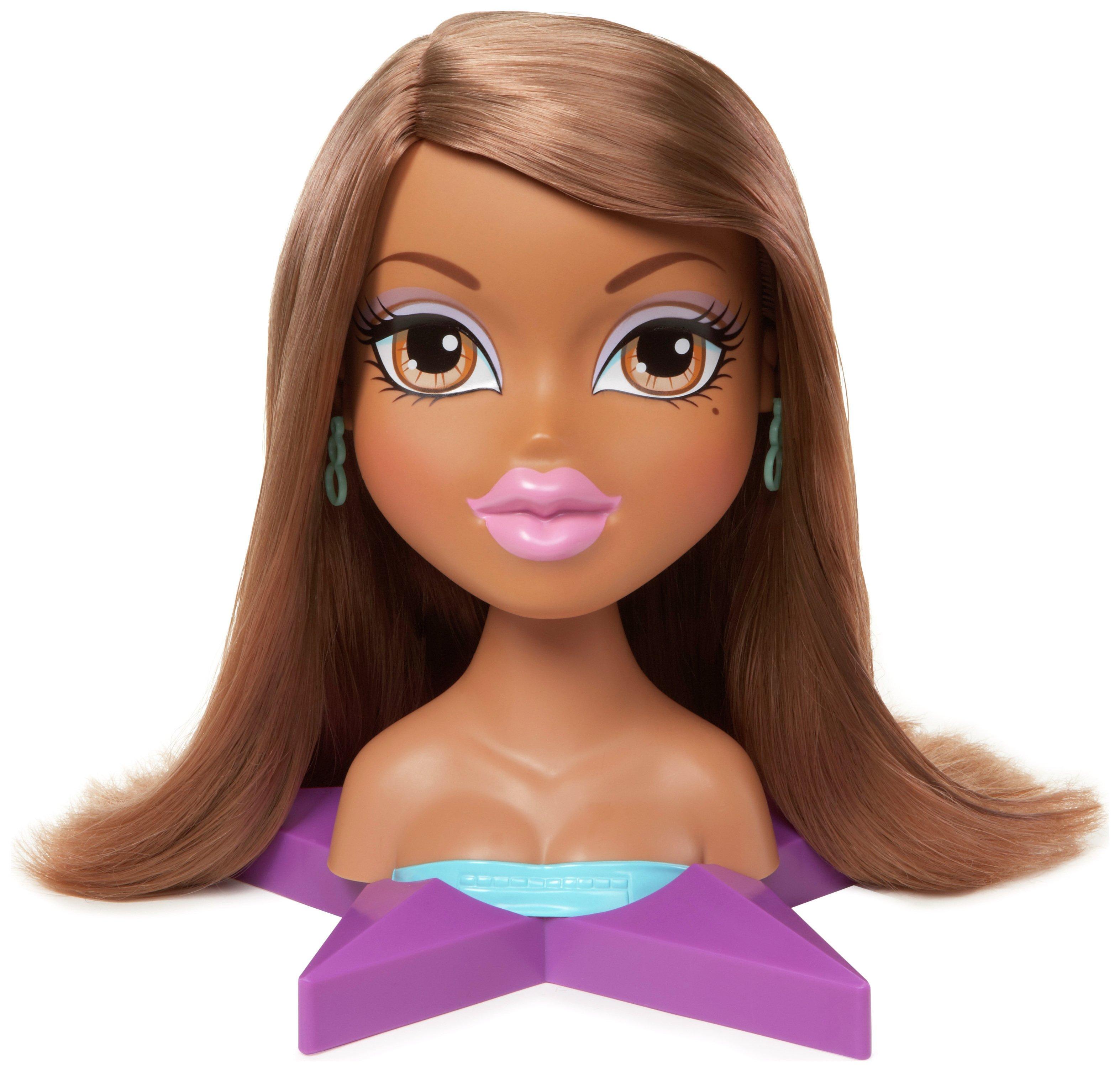 Image of Bratz Styling Head Doll - Yasmin.