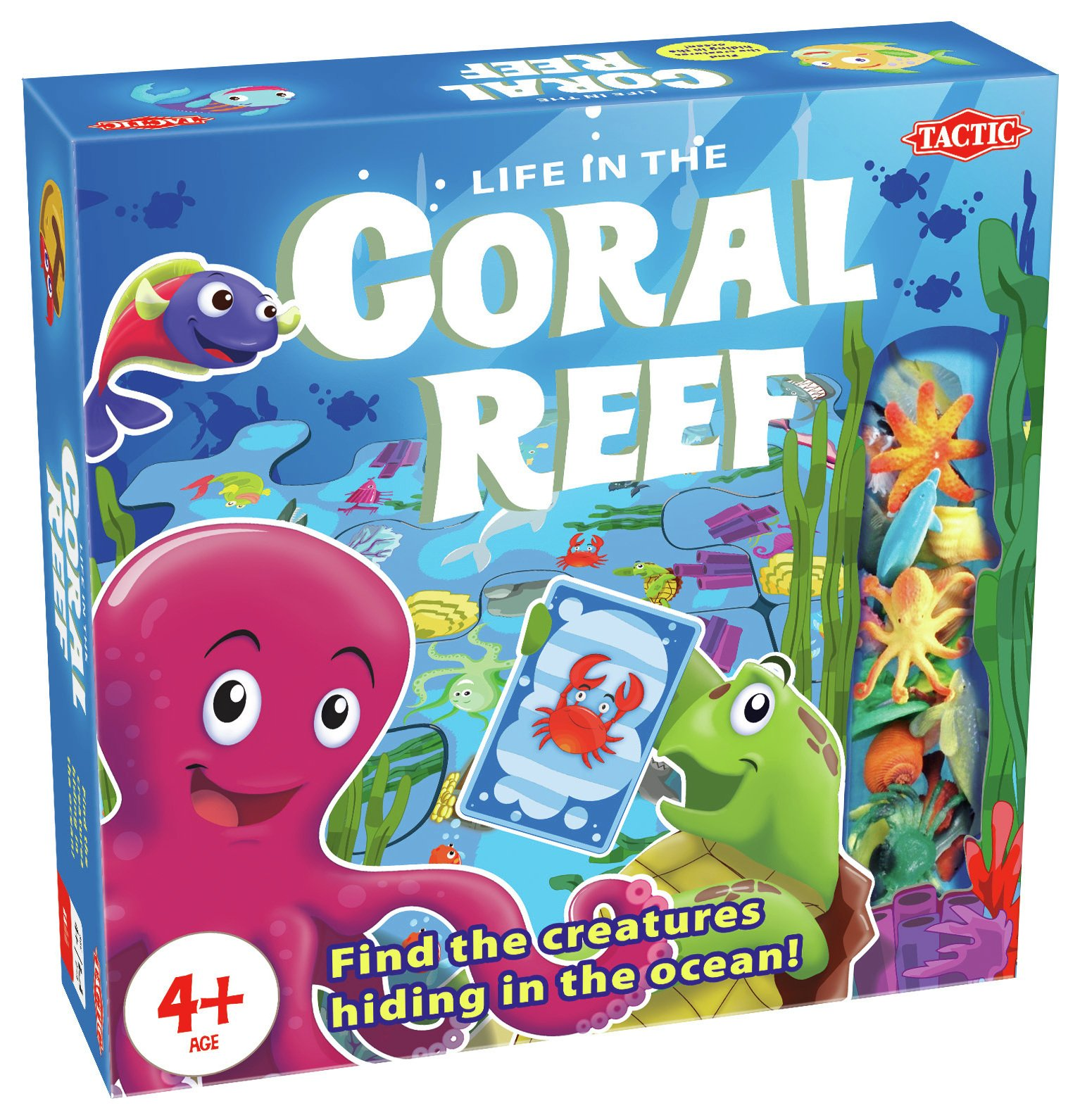 Tactic Games Coral Reef Board Game.