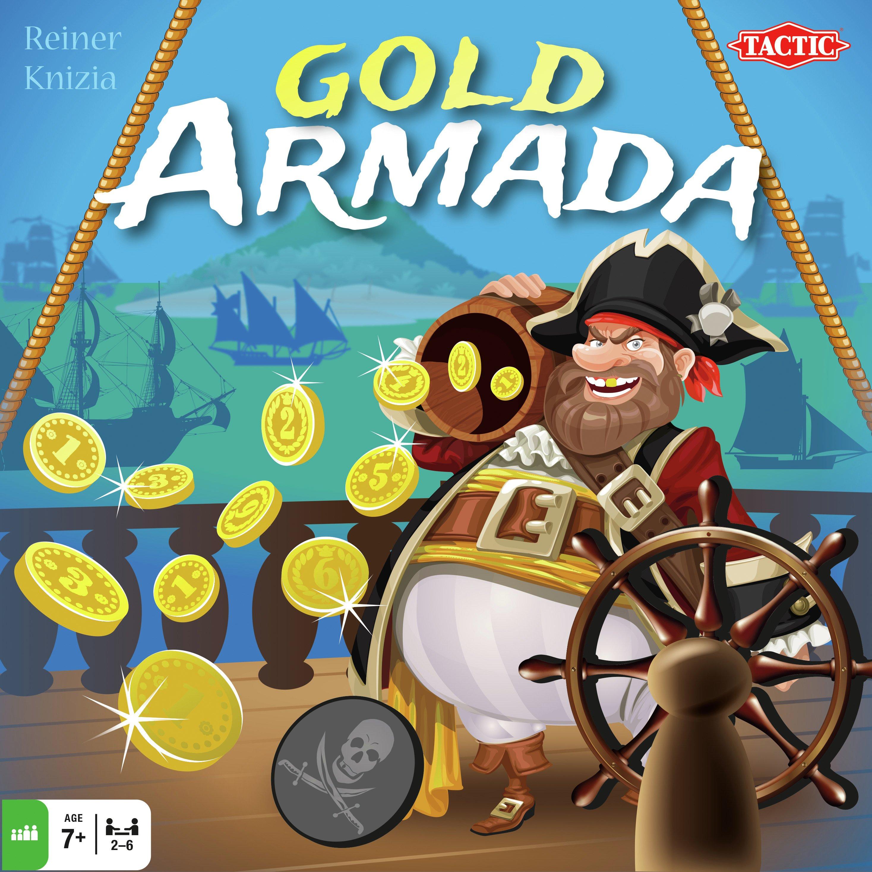 Image of Tactic Games Treasure Armada Game.