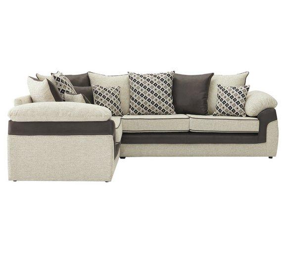 Buy Garden Corner Sofa: Buy Collection Maddison Fabric Left Hand Corner Sofa
