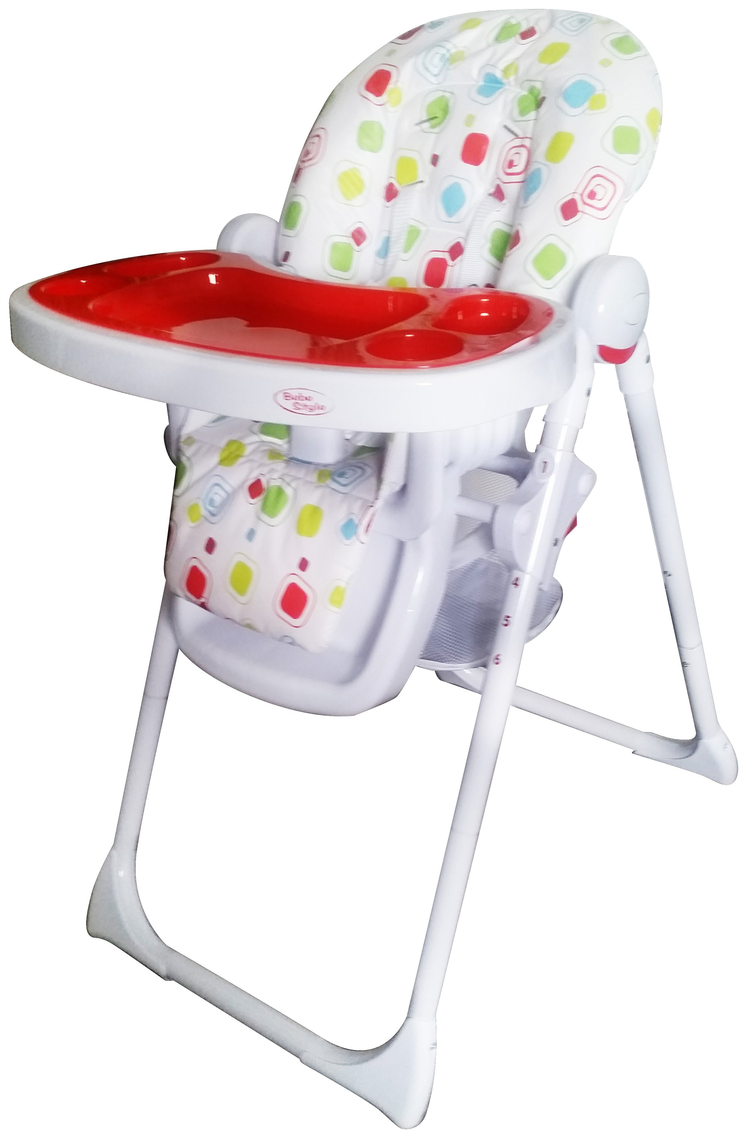 Image of BeBe - Style Hi Lo Burst Recline - Highchaire Cube