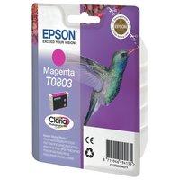 Epson T0803 Hummingbird Standard Ink Cartridge - Magenta.