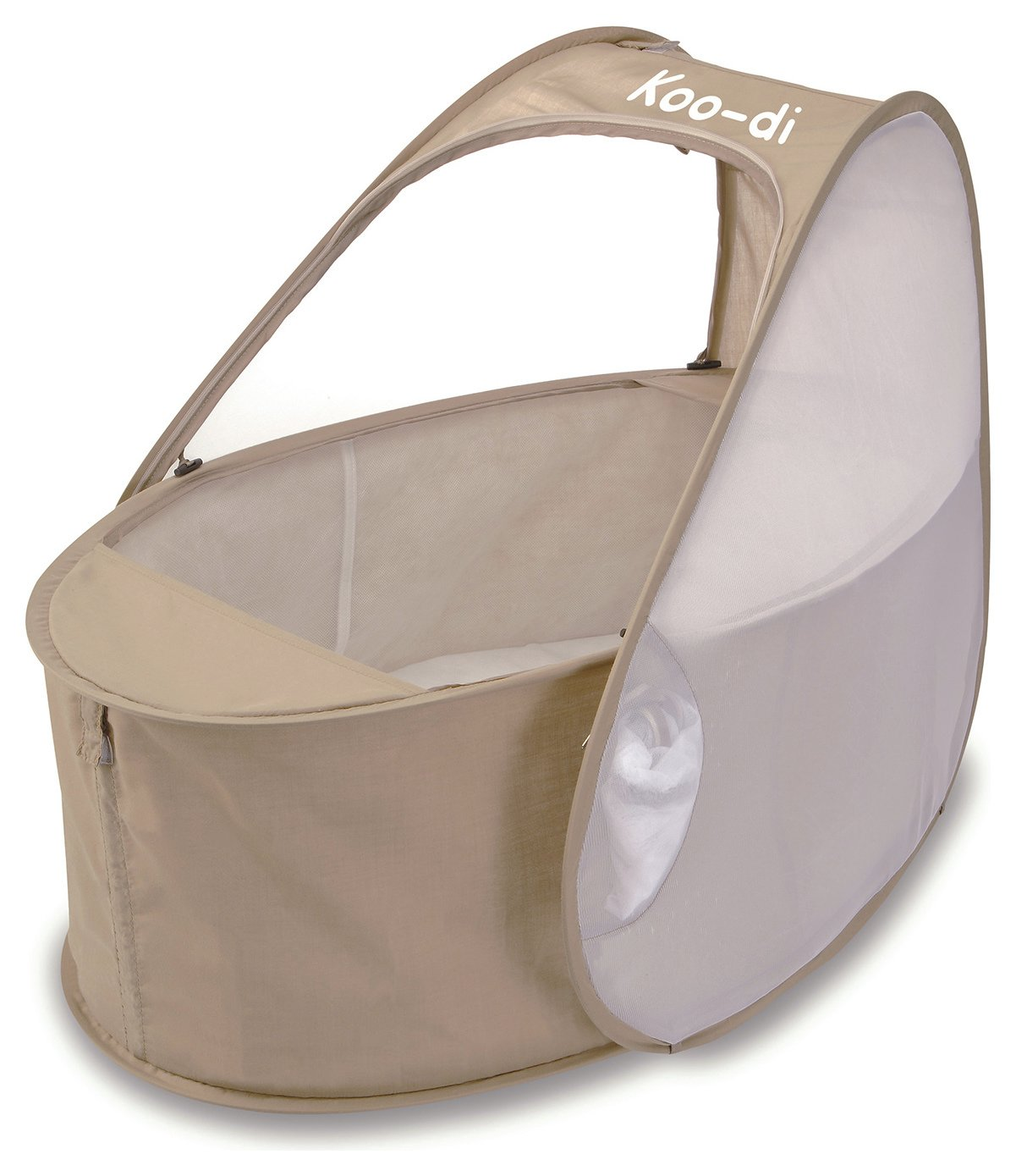 Image of Koo-di - Pop Up - Travel Bassinet - Caf? Cr?me