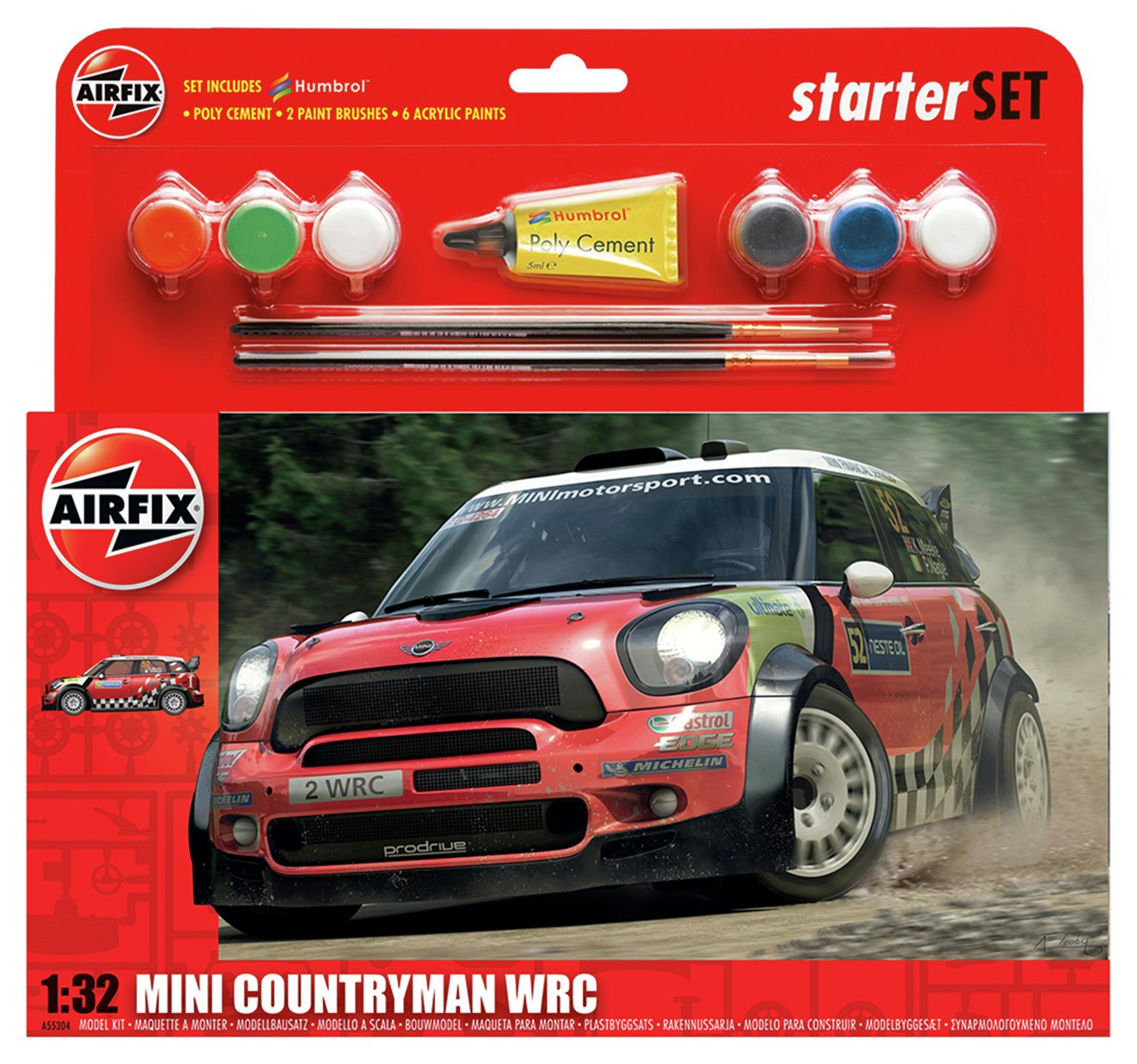 Image of L Set Mini Countryman WRC.