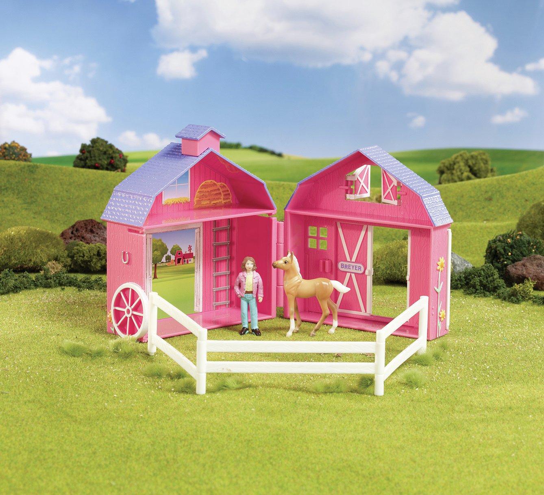 Image of Breyer Horse Crazy Pocket Barn.