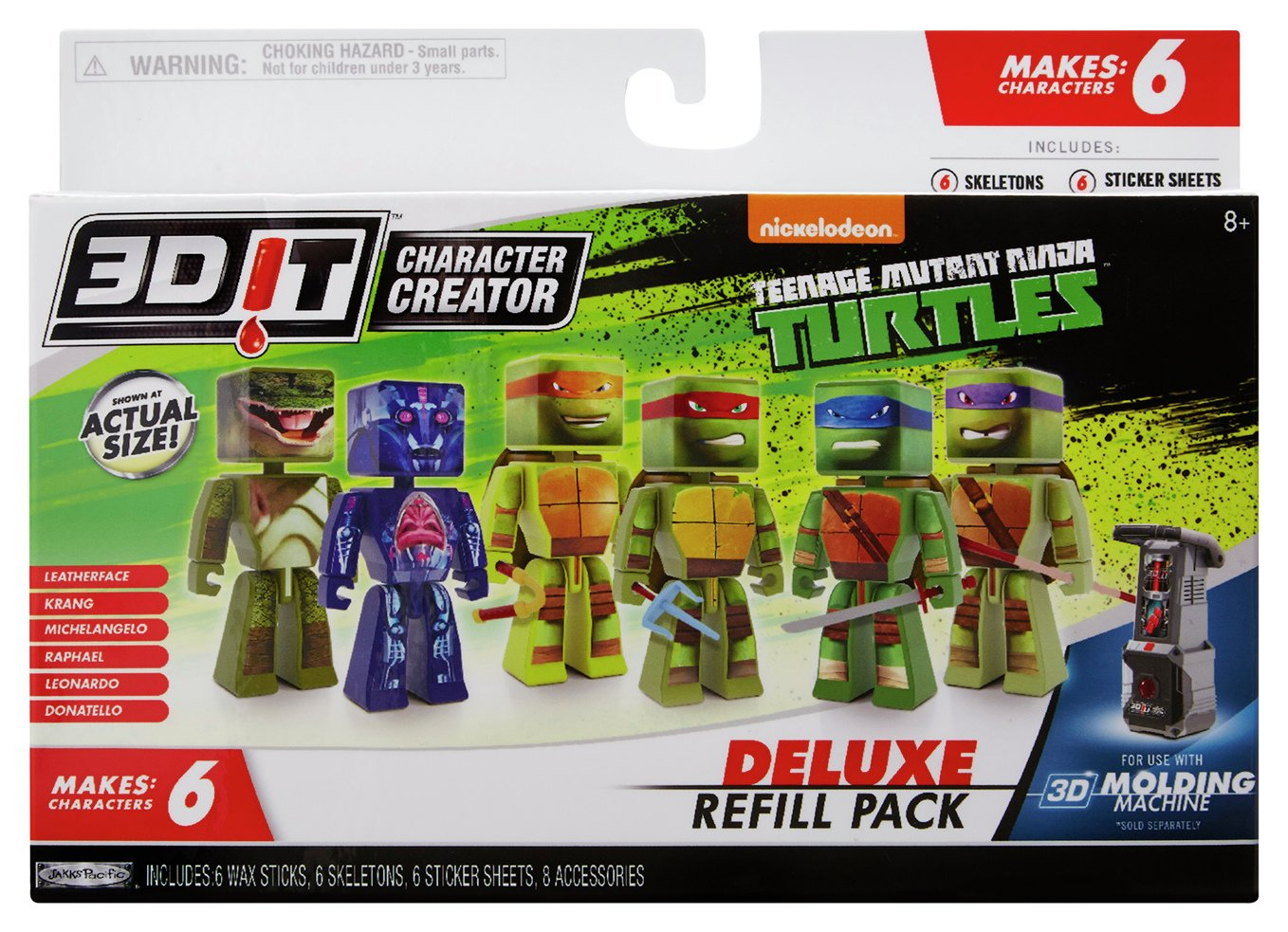 Image of 3DIT Teenage Mutant Ninja Turtles Refill Pack
