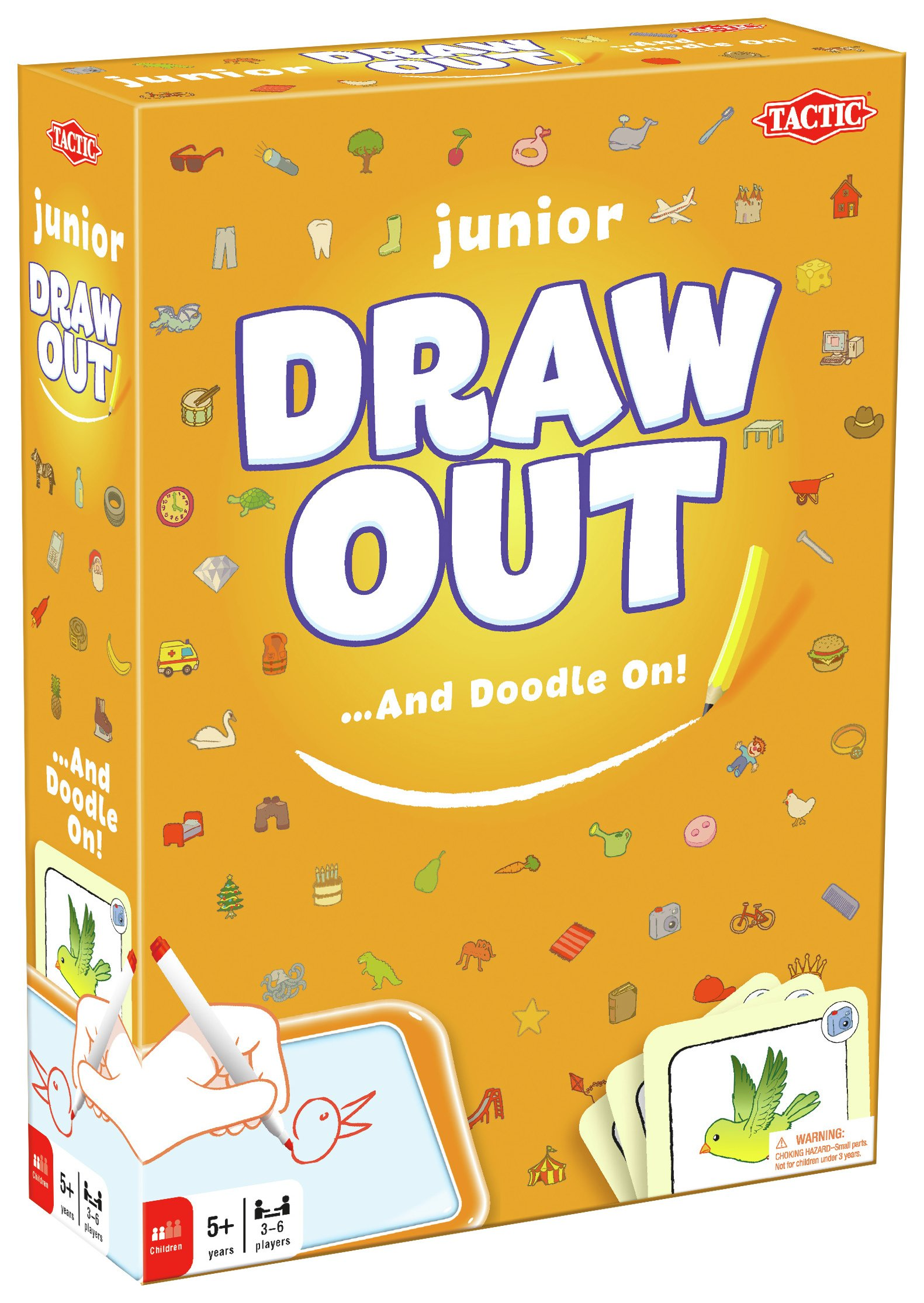 Image of Tactic Games Draw Out Junior Game.