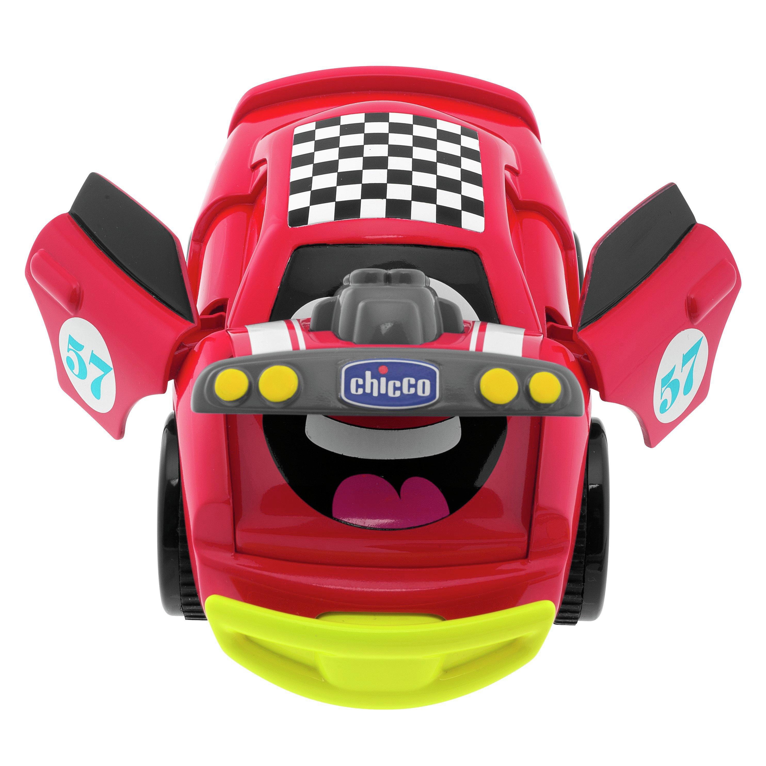 Image of Chicco Turbo Touch Crash - Derby Red.