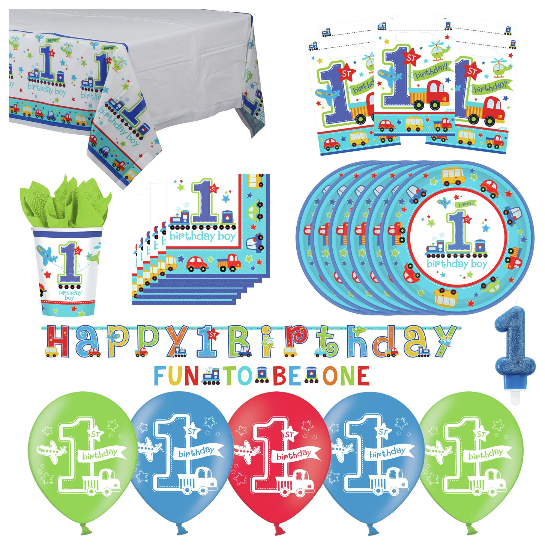 Image of 1st Birthday Party Pack Blue
