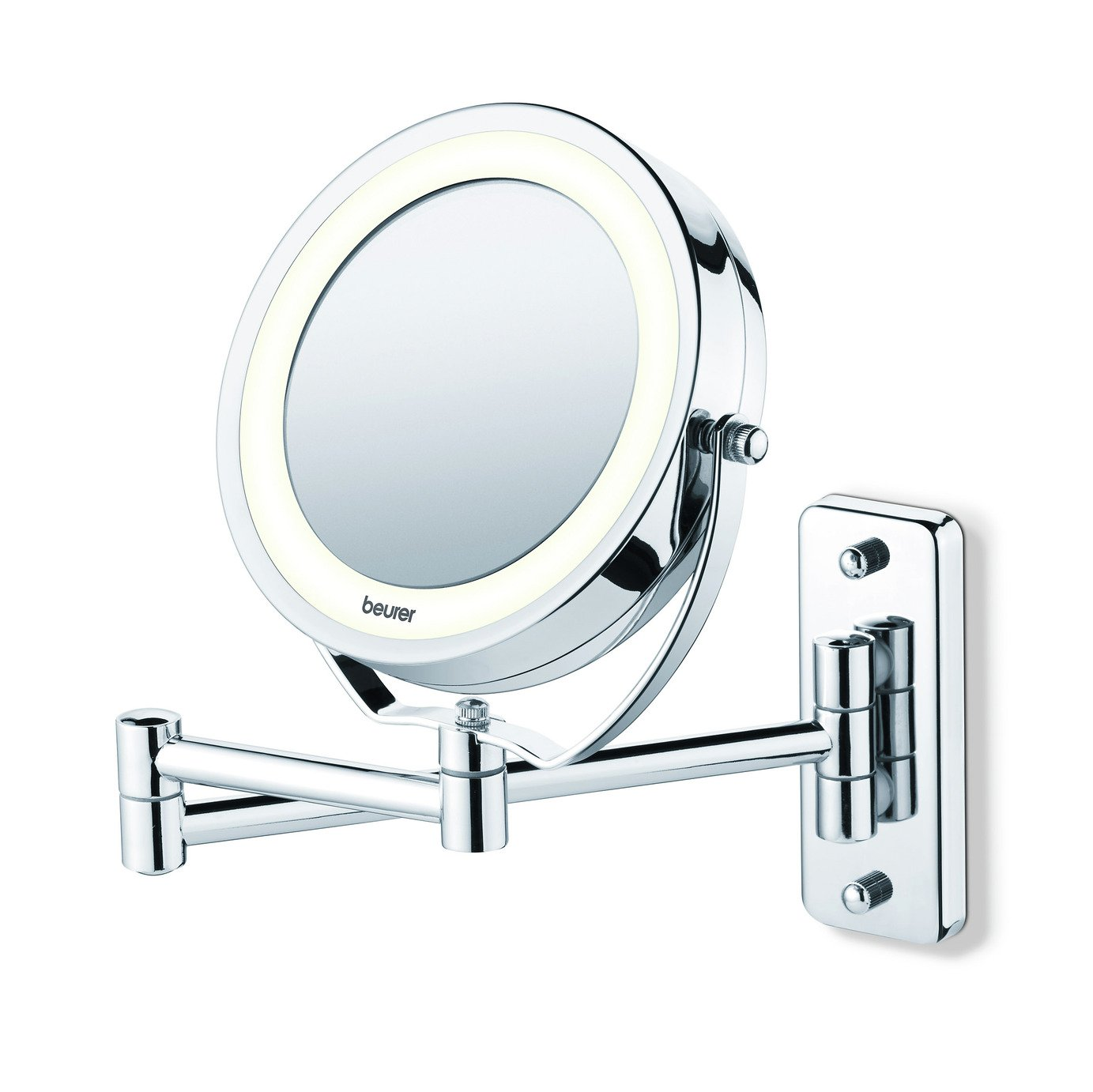 Image of Beurer BS59 Illuminated Wall Cosmetic Mirror.