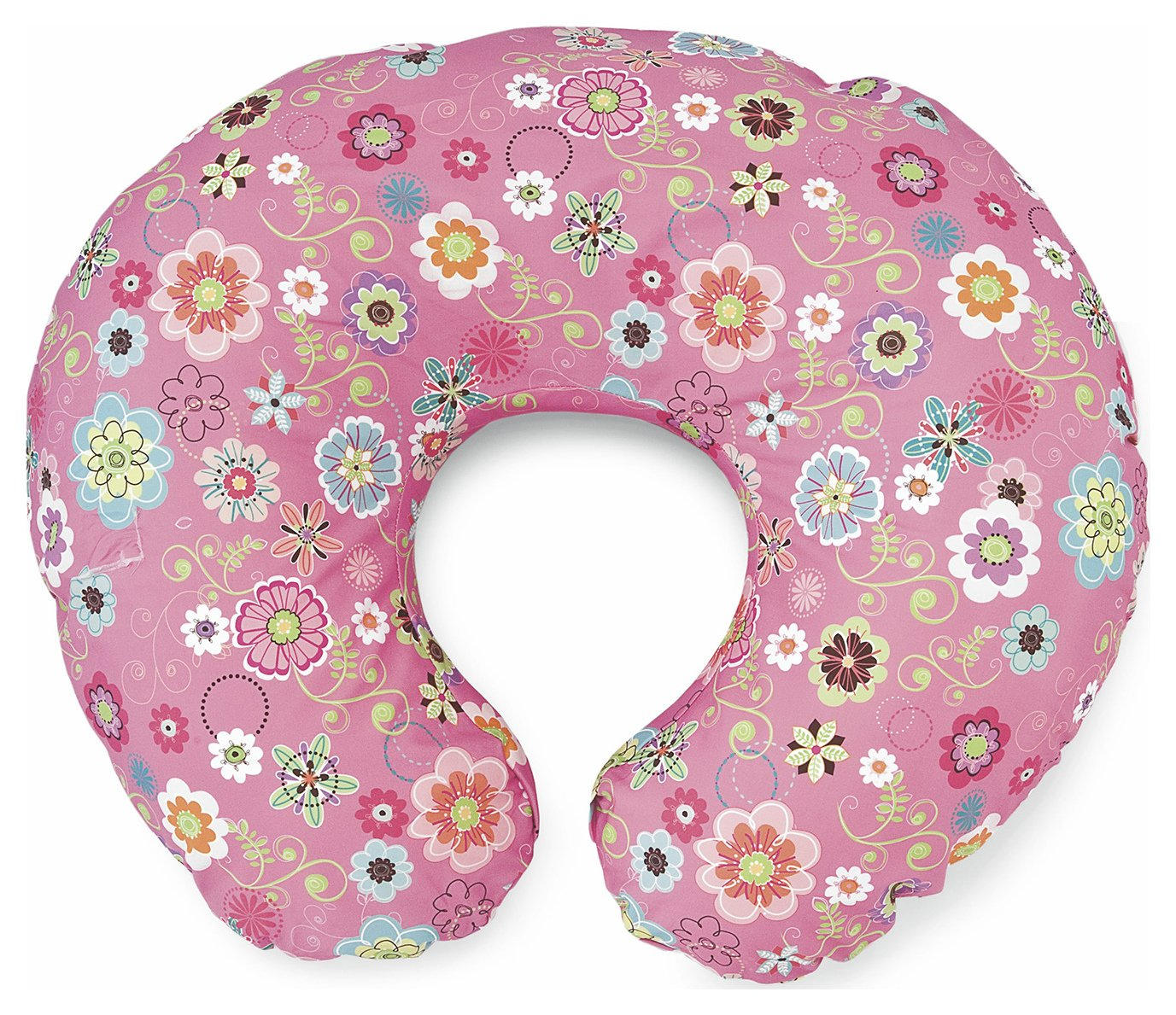 Image of Boppy - Cotton Feeding Pillow - Wild Flowers