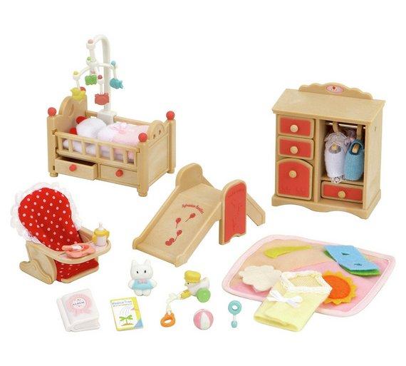 sylvanian families living room set. Sylvanian Families Baby Room Set Buy  Animal playsets and