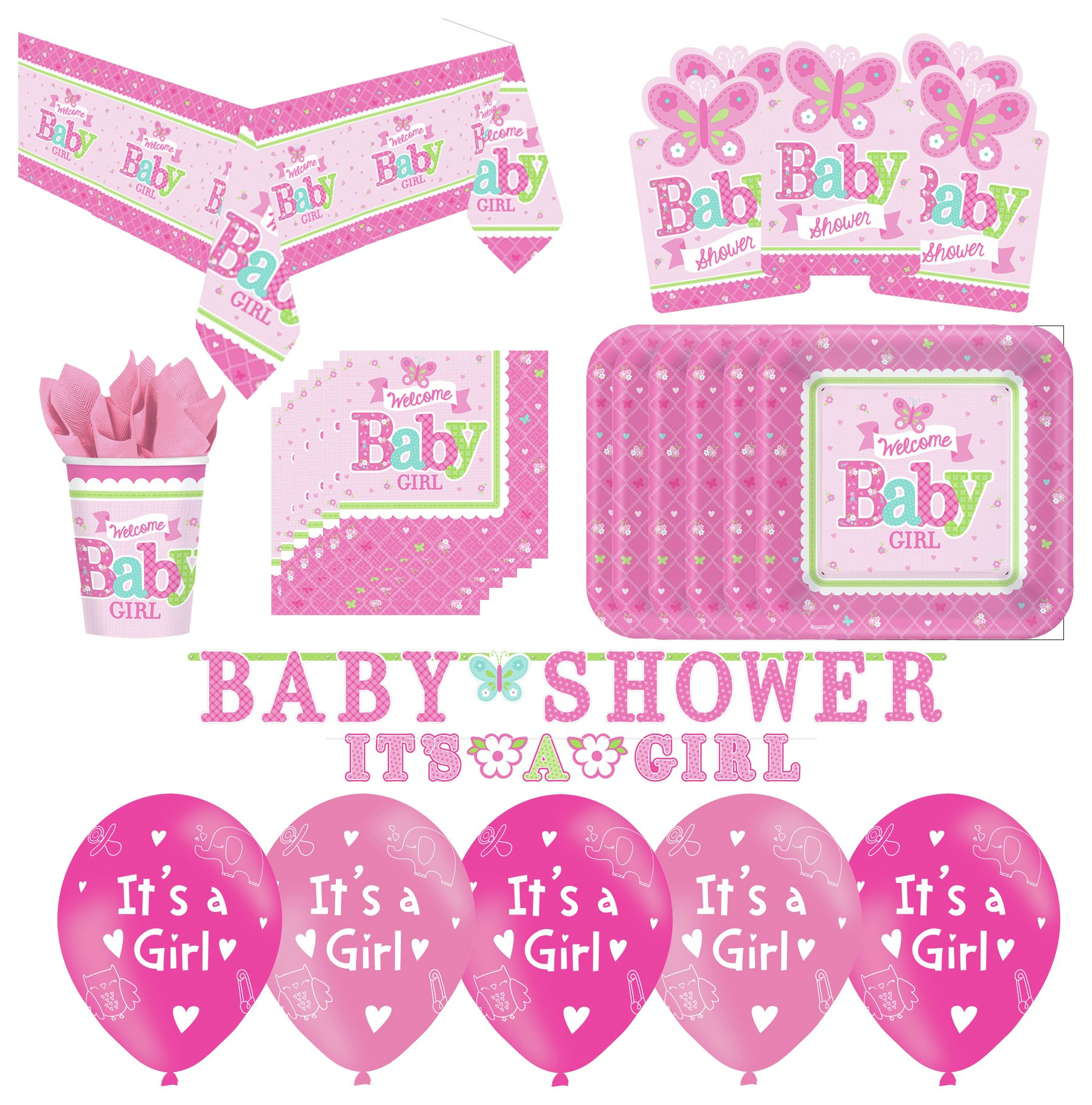Image of Baby Shower Party Pack Pink