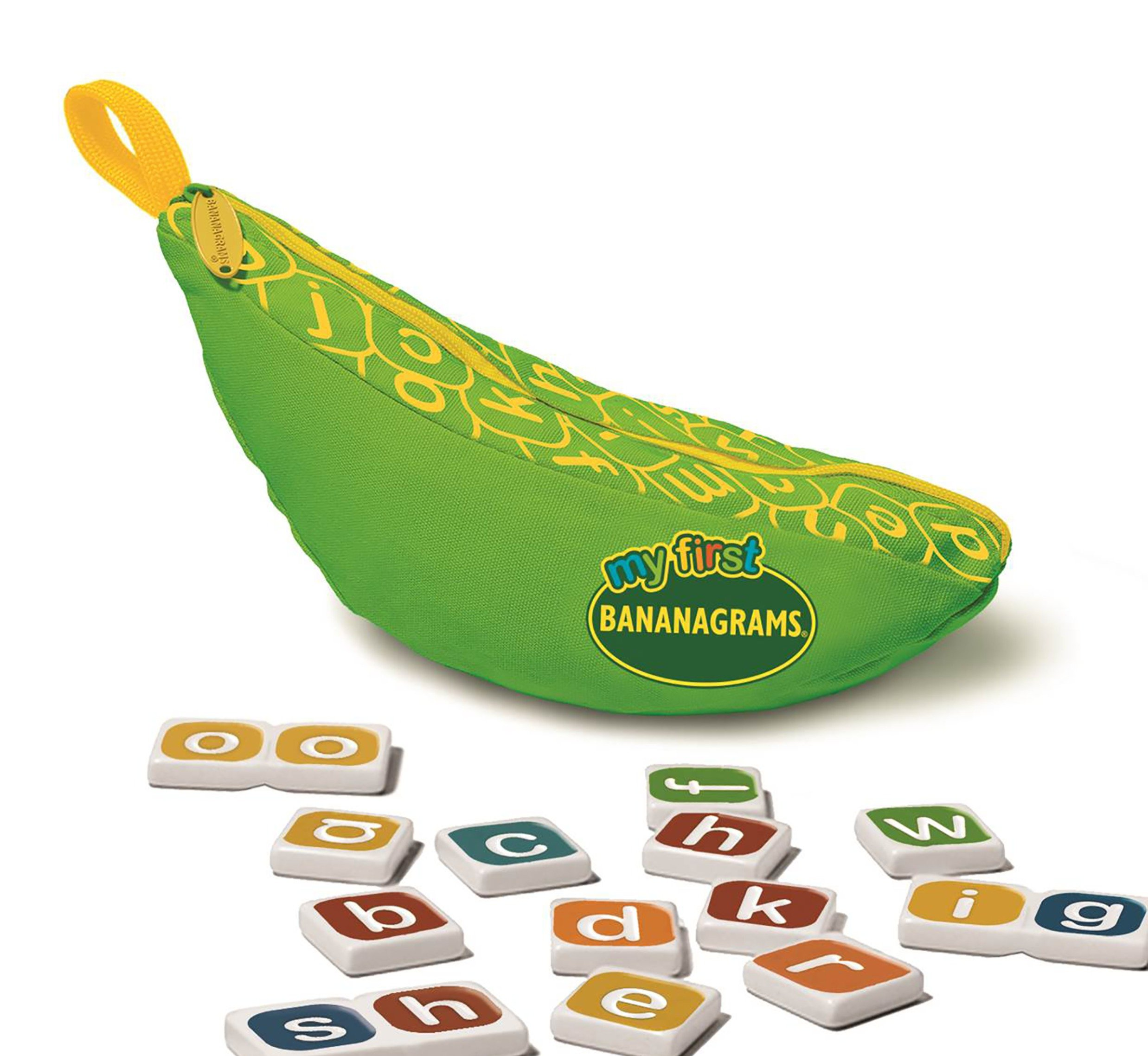 Image of My First Bananagrams Word Game.