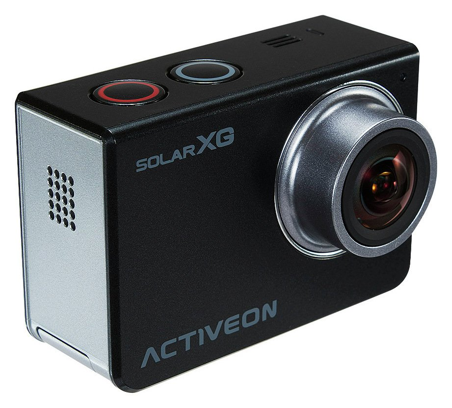 Image of Activeon XG Solar Action Camera - Black.