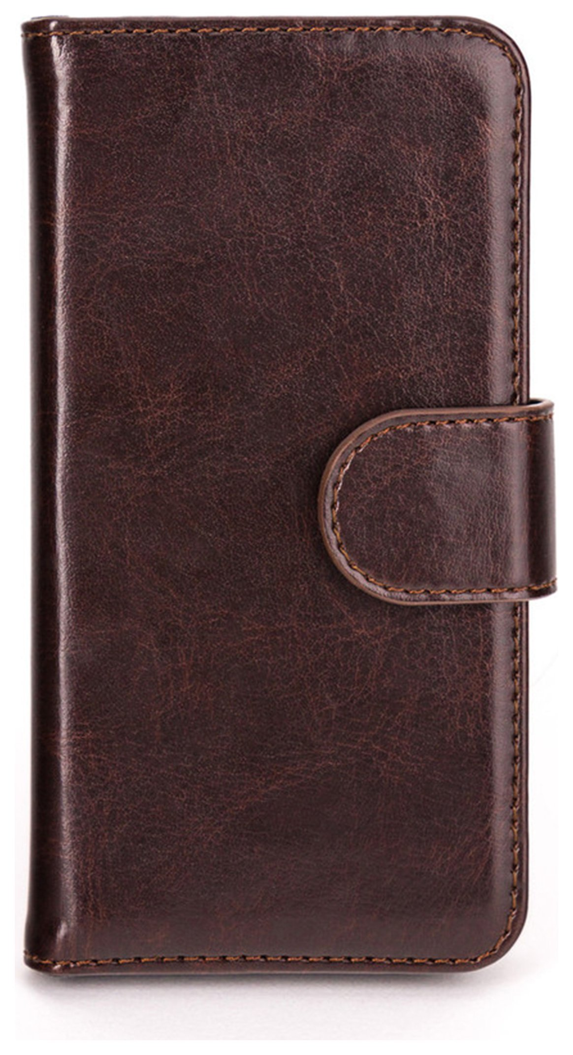 Xqisit Wallet Case Eman for iPhone 5S - Brown.