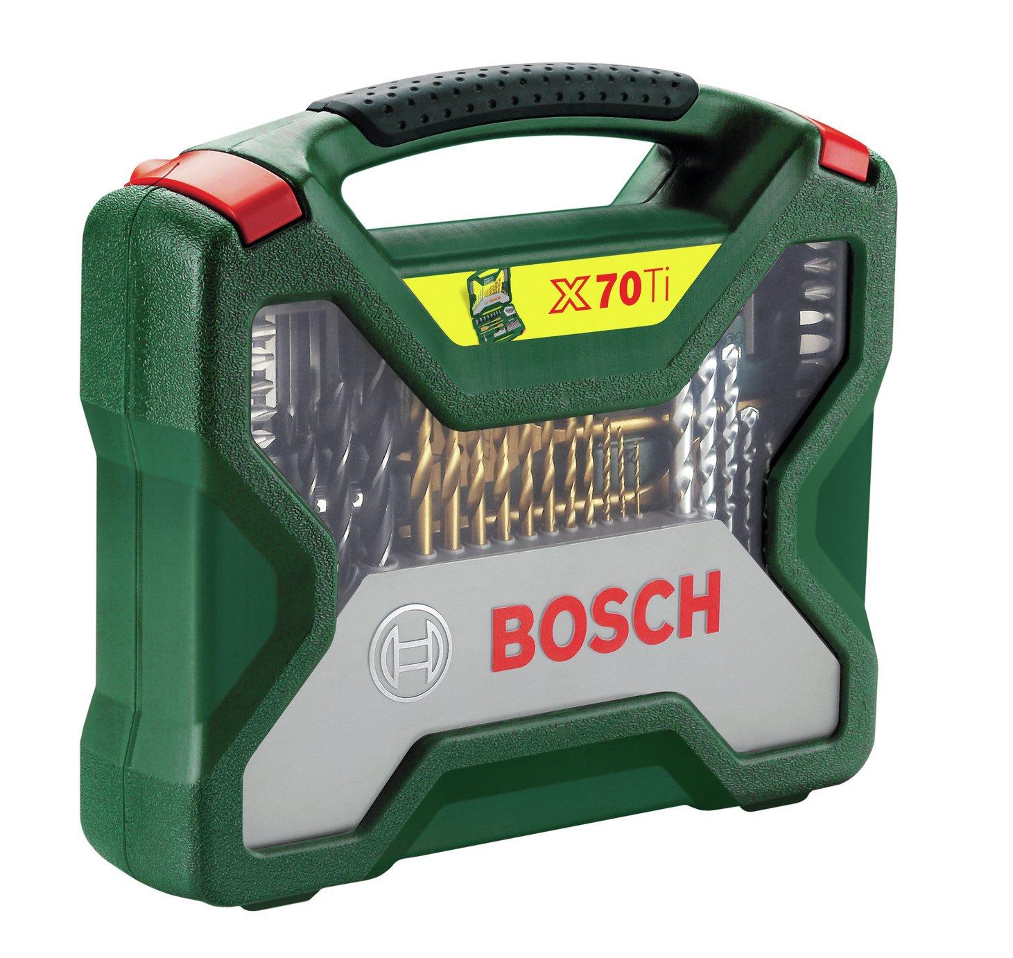 Bosch 70 Piece X-Line Drill Bit Set